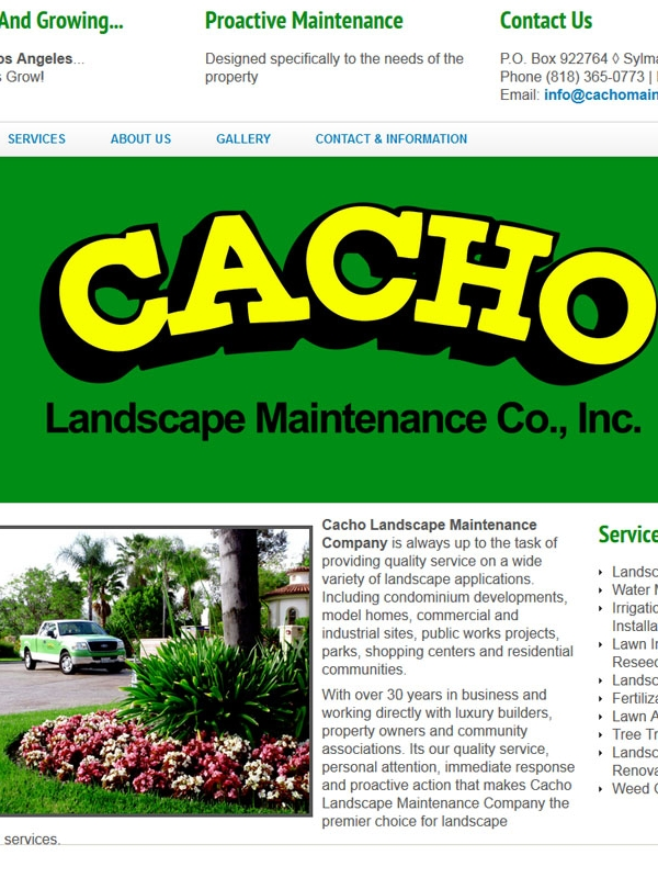 Cacho Maintenance & Landscaping